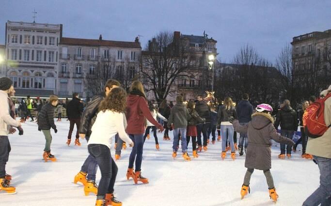 Ouverture imminente de la patinoire à Rochefort !