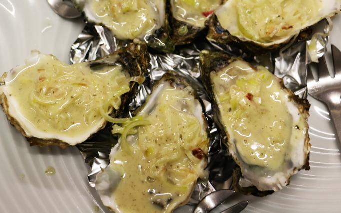 Idée recette : les Huîtres Chaudes