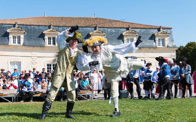 2017, Rochefort célèbre La Fayette