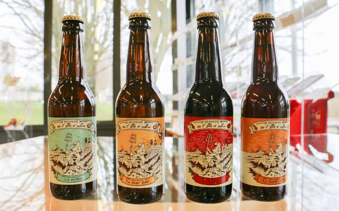 Une bière artisanale sur l'Île d'Aix