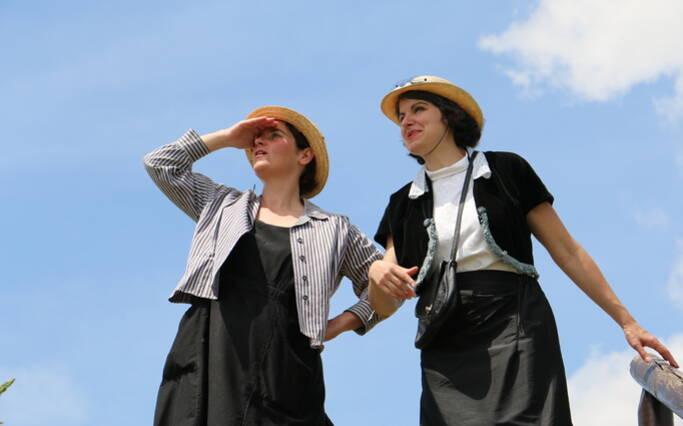 Les visites théâtralisées rythment l'été à Rochefort Océan