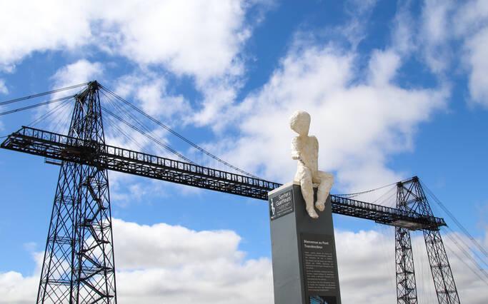 Le Pont Transbordeur reprend du service !