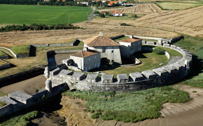 Le Fort Lupin à Saint-Nazaire sur Charente