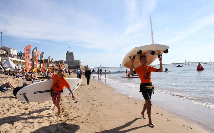 Fort Boyard Challenge, das Sport-Event in Fouras