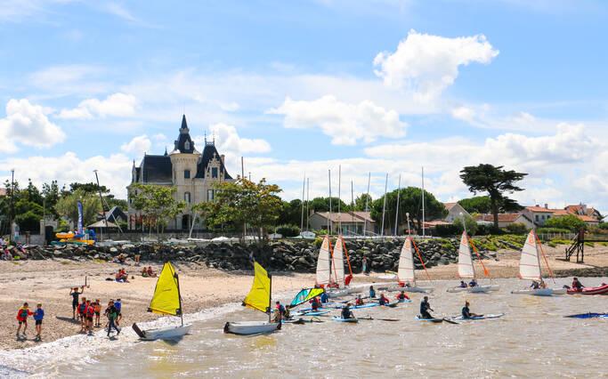 Loisirs et sports nautiques à Rochefort Océan