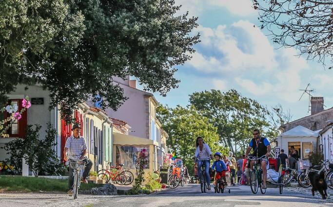 L'île d'Aix à vélo @Images&Emotion