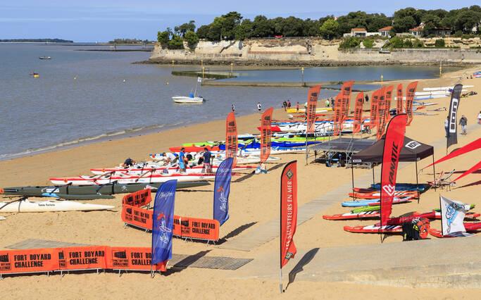 Watersports in Rochefort Ocean