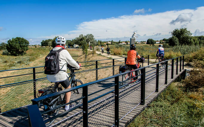 Walks and bicycle rides in Rochefort Ocean