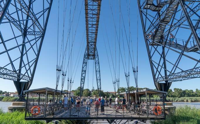 Le  Pont Transbordeur Rochefort - Echillais