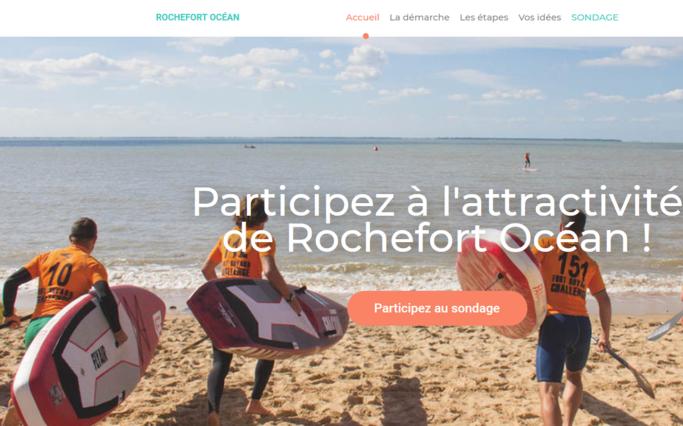 Marque territoriale à Rochefort Océan