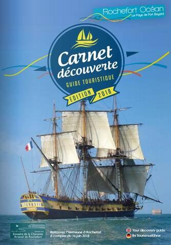 Guide touristique Rochefort Océan 2018