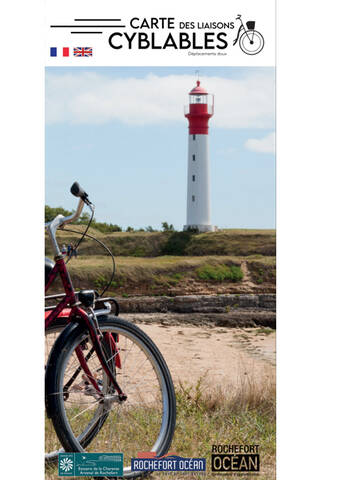Carte vélo 2020 Rochefort Océan