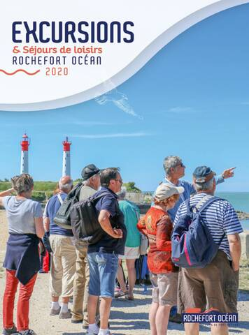 Brochure excursion Groupes 2020 à Rochefort Océan