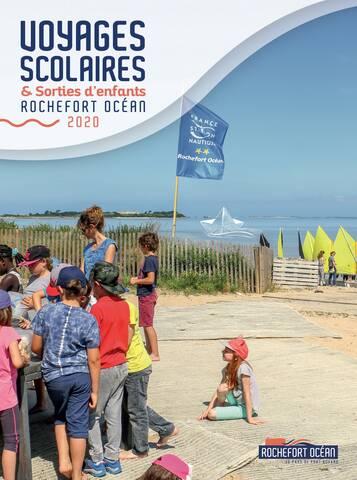 Brochure sorties d'enfants et voyages scolaires 2020