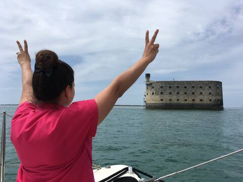 Fort Boyard, droit devant ! - © Jeni Chérie
