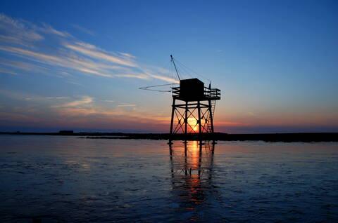 Sunset time au bout de la presqu'île de Fouras-les-Bains - © Rodrigue Roux
