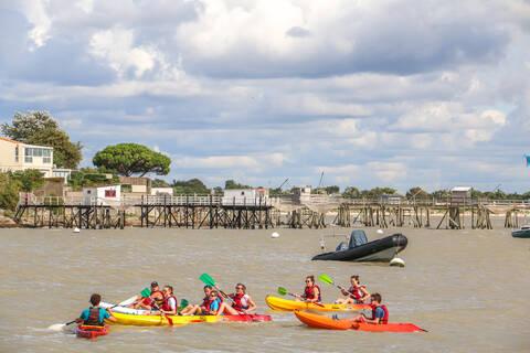 Balade en kayak - © OT Rochefort Océan