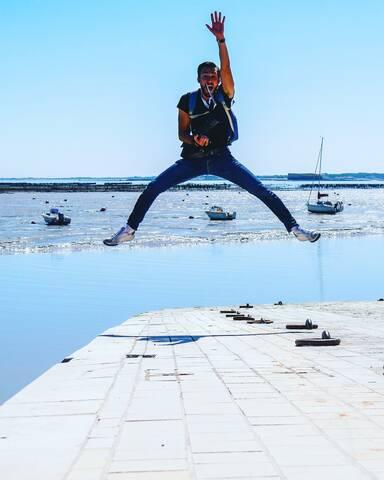 Toujours plus haut, toujours plus fort ! île d'Aix - © Philippe Tran