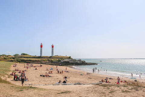 Plage de l'Anse de la Croix, île d'Aix - OT Rochefort Océan