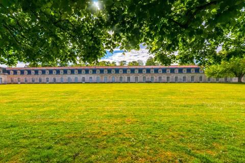 Au coeur des jardins de la Corderie Royale de Rochefort - © Vincent Edwell