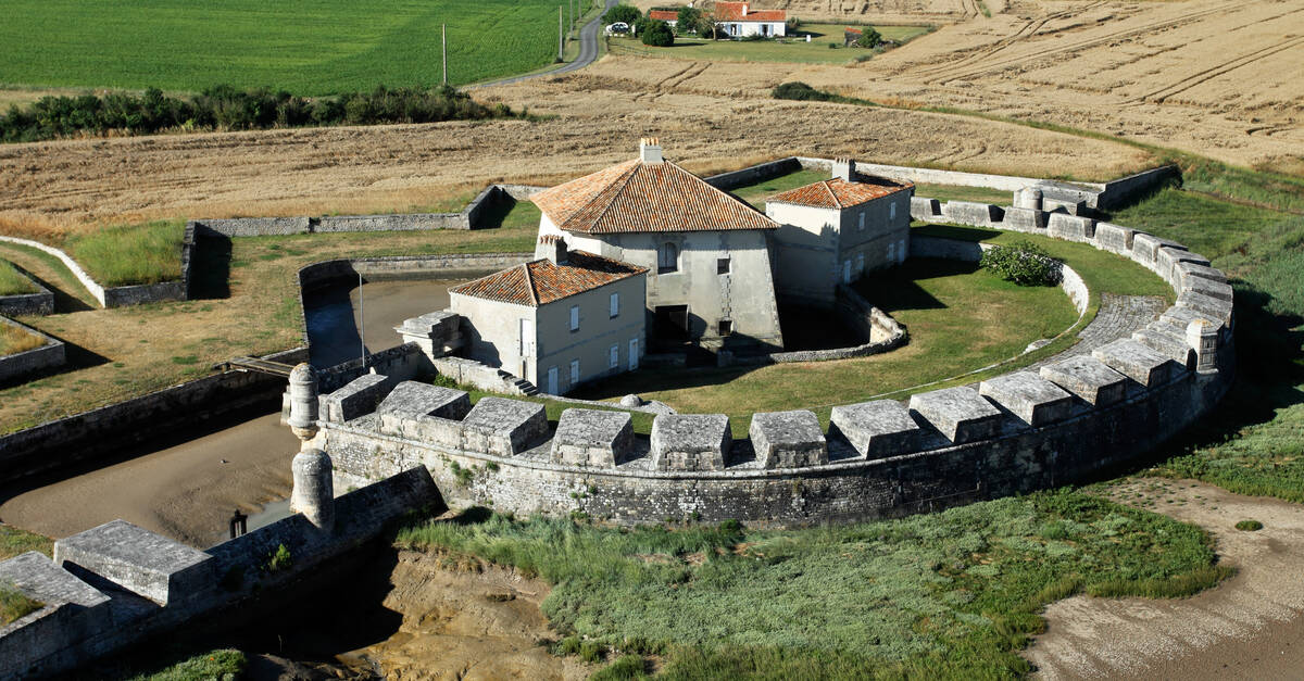 Le fort lupin l uvre de vauban saint nazaire sur charente office de tourisme de rochefort - Office du tourisme rochefort sur mer ...