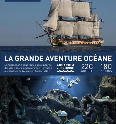 Flyer Hermione - Aquarium pour le billet couplé