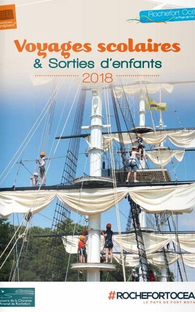 Brochure Voyages Scolaires & Sorties d'enfants 2018
