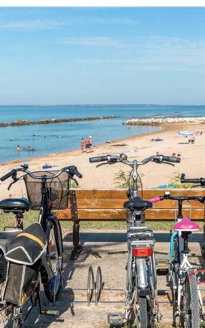 Carte des liaisons cyclables Rochefort Océan