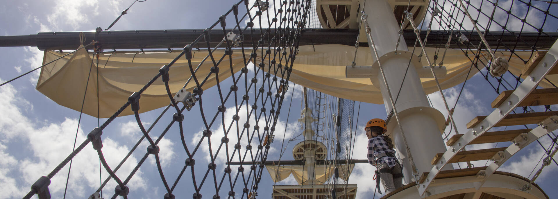 L'accro-mât à Rochefort ©S.David