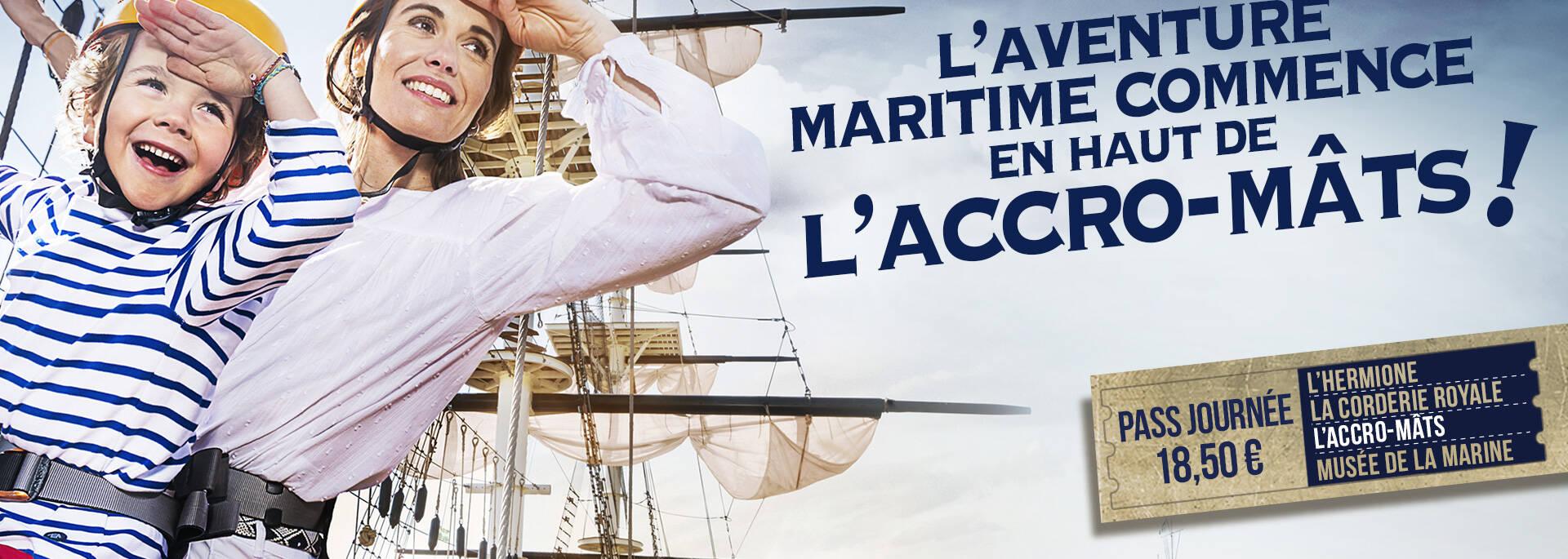 L'Arsenal des mers avec la découverte de l'accro-mât  ©LWMR