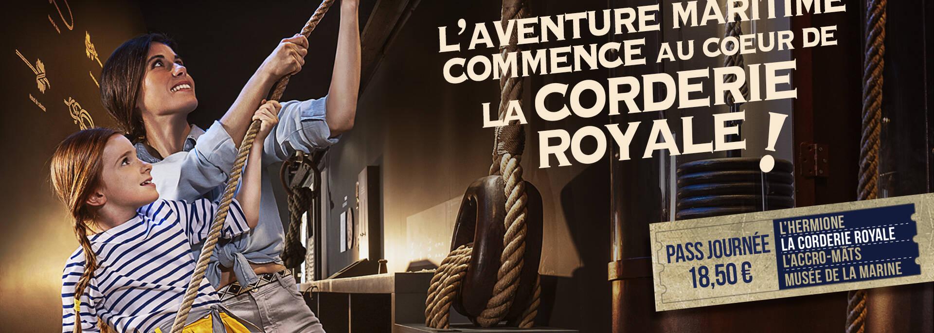 L'Arsenal des mers avec la découverte de la Corderie Royale ©LWMR