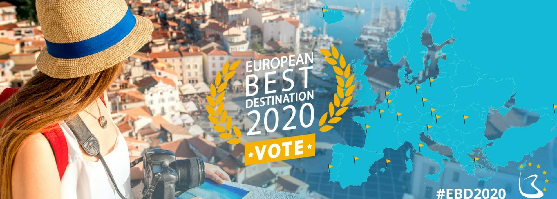 Carte European Best Destination 2020