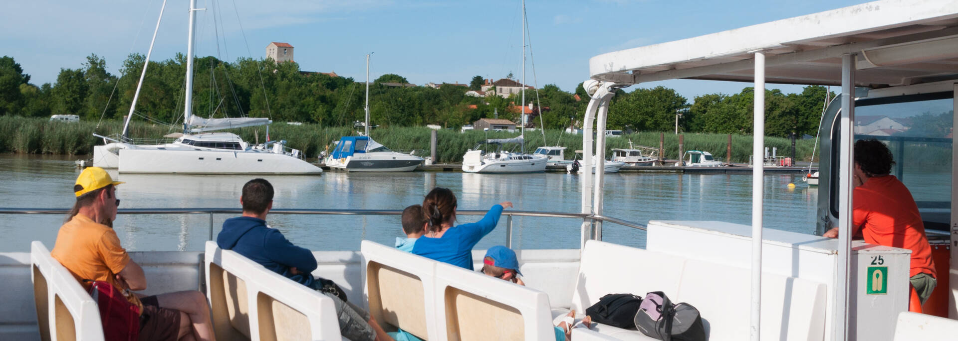 Cruise on the Charente river with Rochefort Croisières © Vincent Edwell