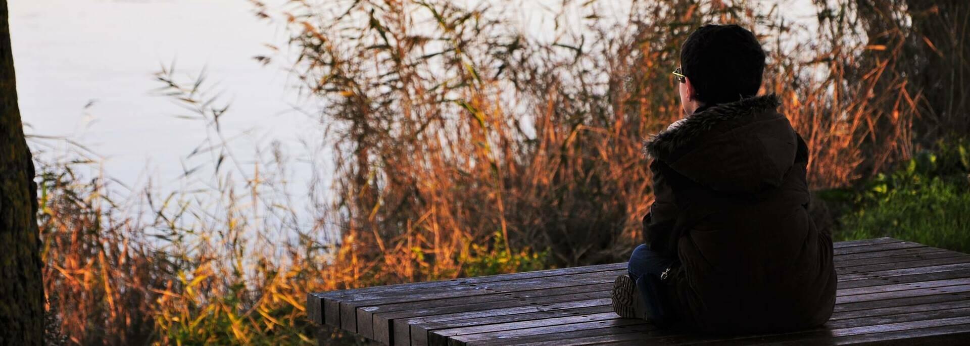 Pause poétique en bords de Charente à Rochefort - © Christelle Derand