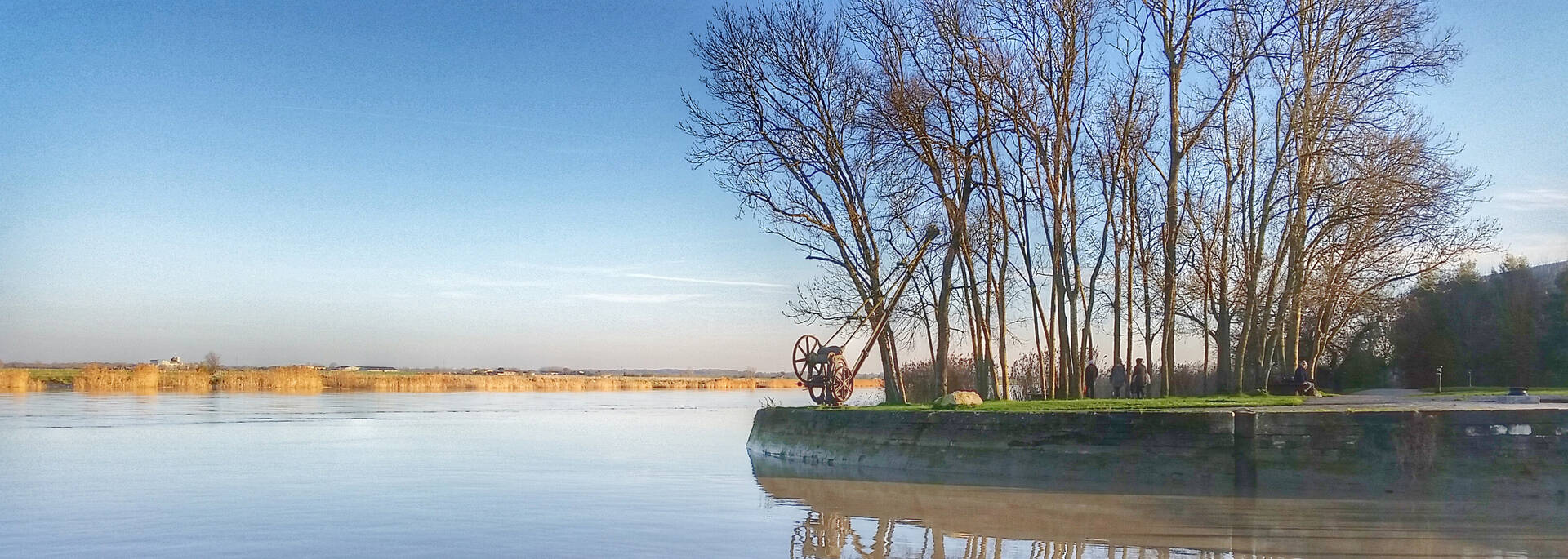 Balade sur les chemins de Charente à Rochefort - © Office de tourisme Rochefort Océan