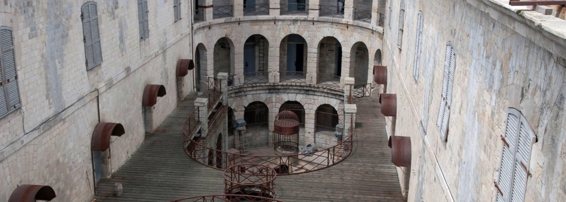 Inside the Fort Boyard - © Marie-Françoise Boufflet