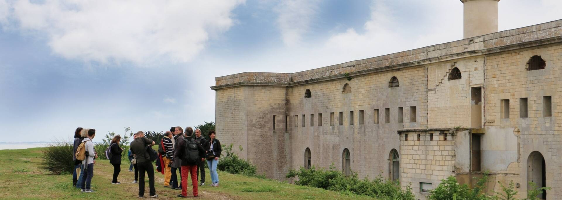 Visit of the fortification of Madam Island - © Office de tourisme Rochefort Océan
