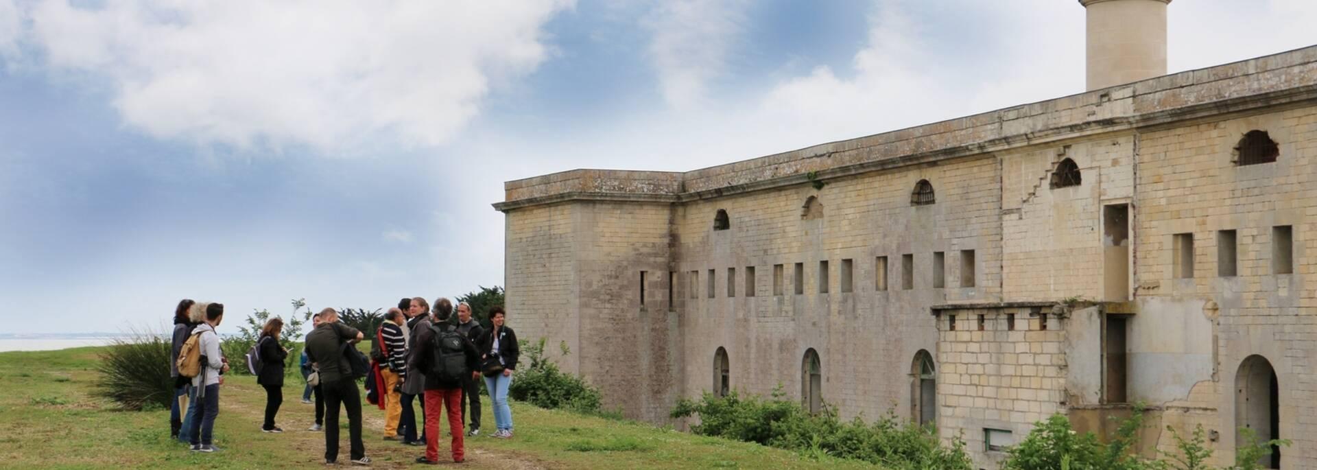 Visite du fort de l'île Madame - © Office de tourisme Rochefort Océan