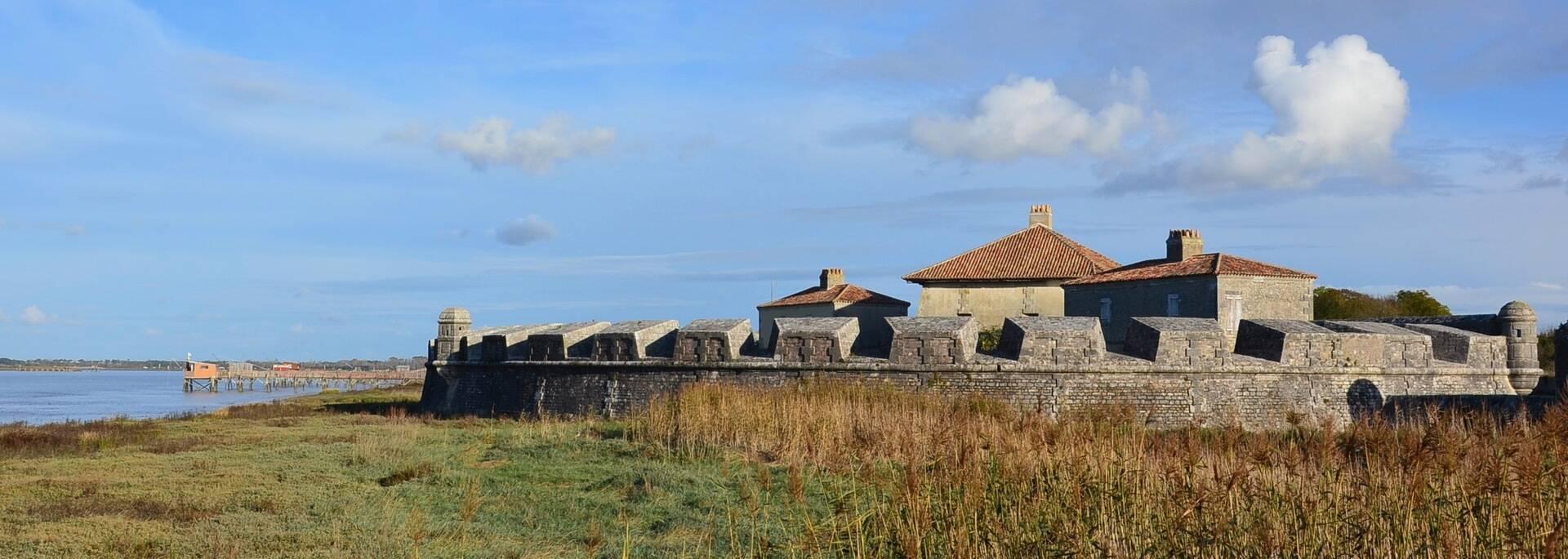 Le Fort Lupin, en bordure de Charente - © Samuel Courtois