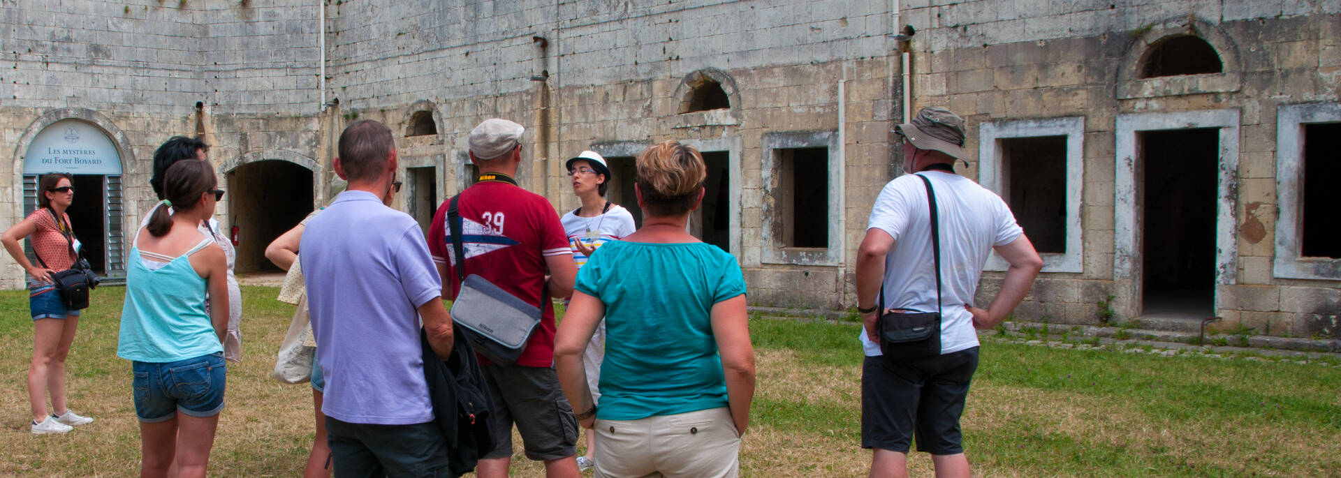 Guided visit of Fort Liédot with the Tourist Office of Rochefort Ocean- © Vincent Edwell