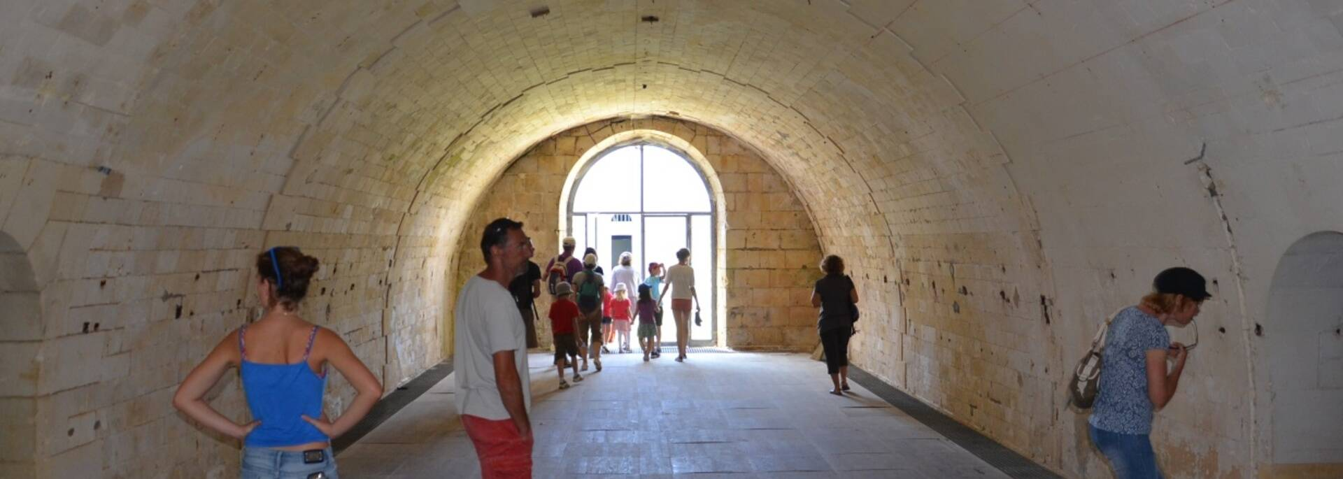 Visit of the blockhouses of Fort Liédot - ©Samuel Courtois