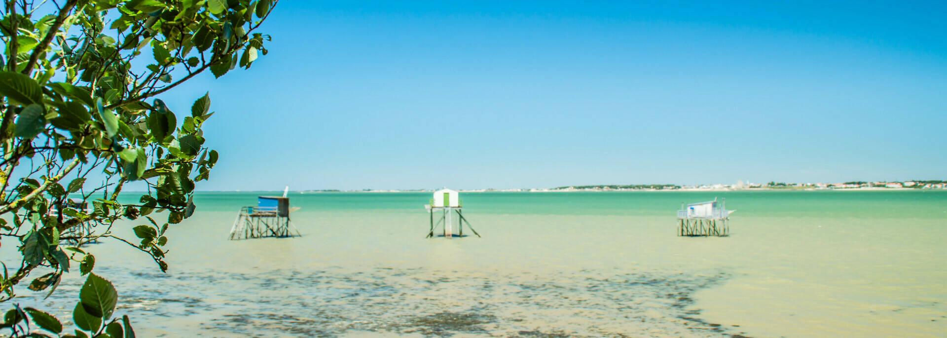 Les carrelets de l'île Madame - © Laurent Pétillon