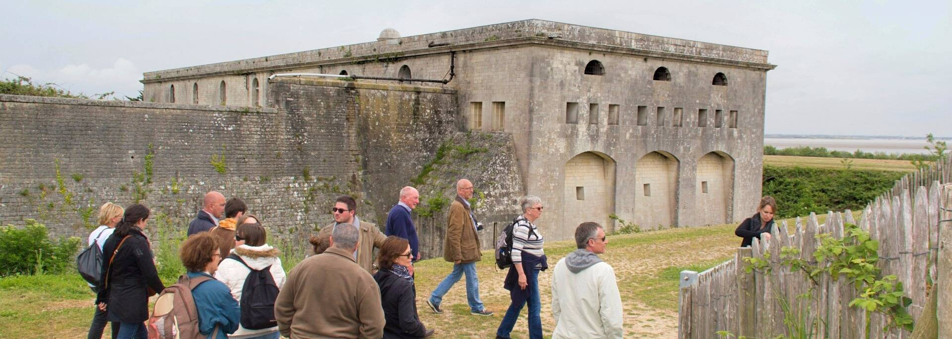 Guided visit of the fort of Madame Island - © Office de tourisme Rochefort Océan