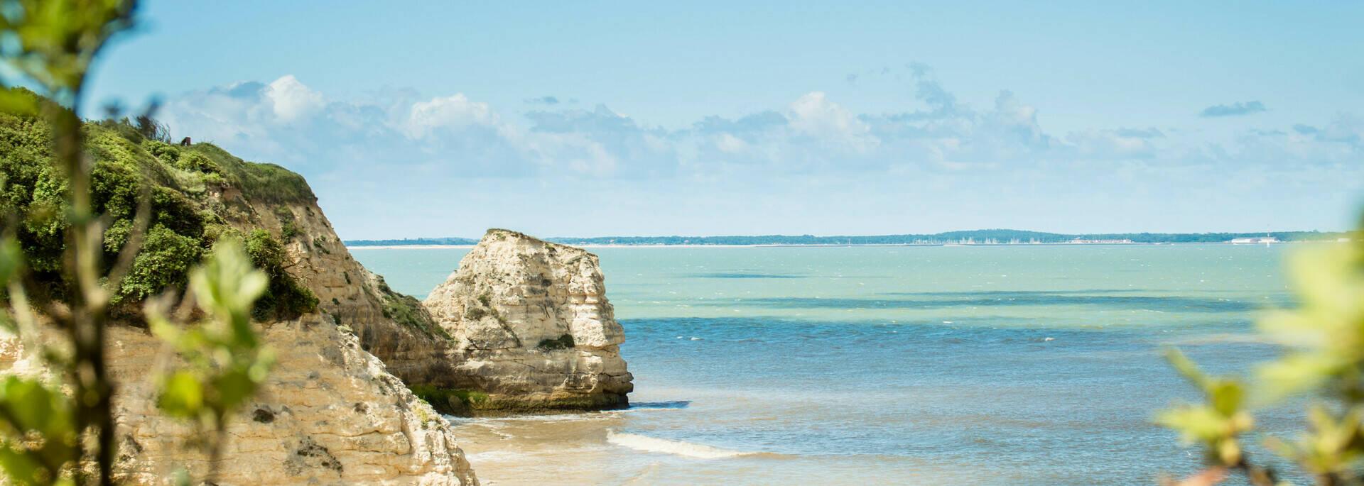 Halte nature sur l'île Madame, l'un des sites les plus enchanteurs de Rochefort Océan - © Laurent Pétillon