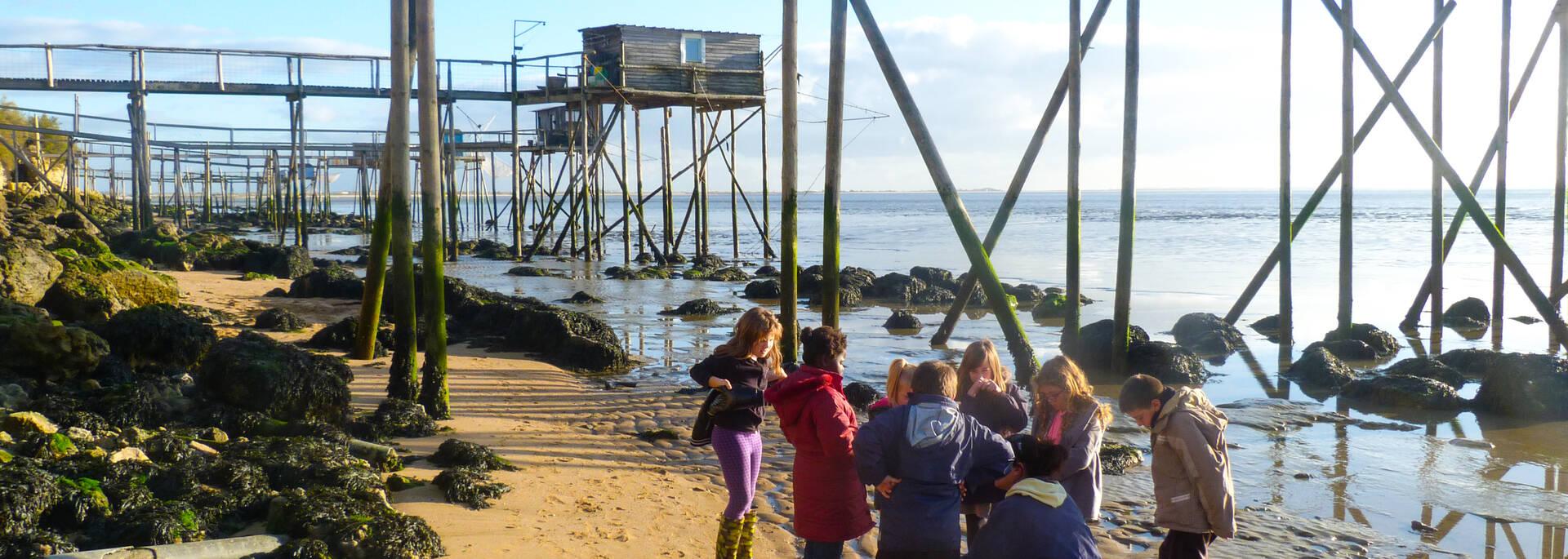 Un cadre idéal pour organiser les activités enfants avec l'Ecomusée de Port-des-Barques