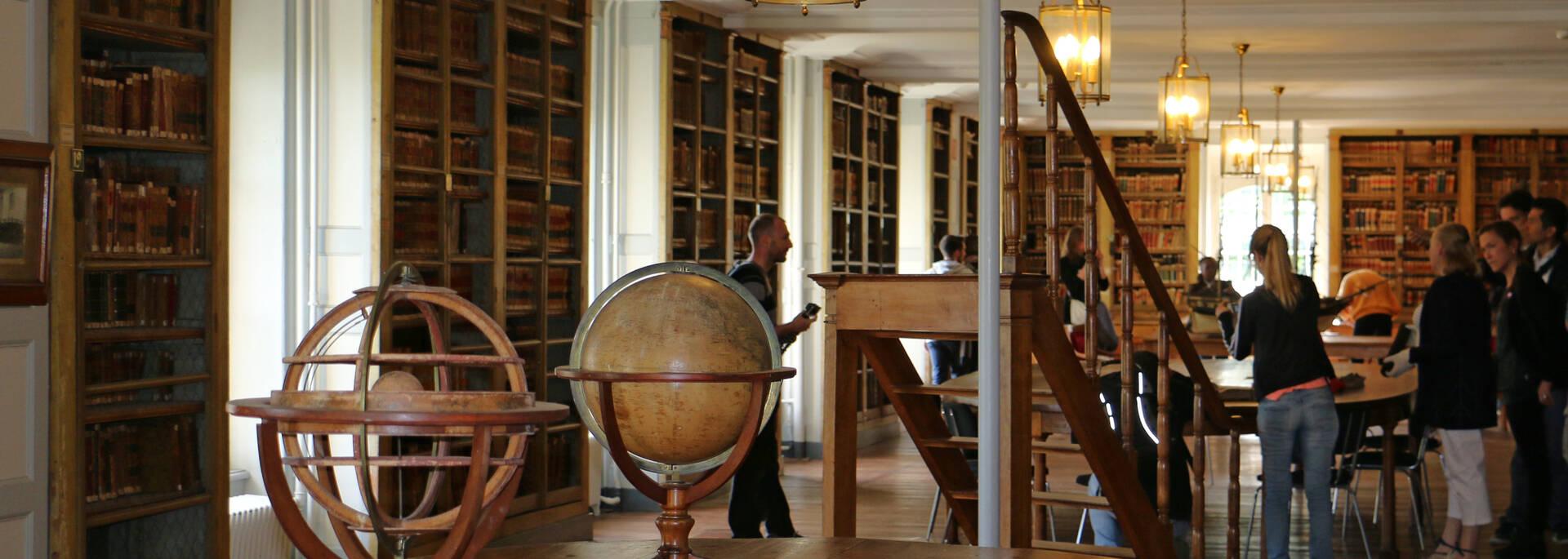 Impressive library of the School of Naval Medicine in Rochefort- © Office de tourisme Rochefort Océan