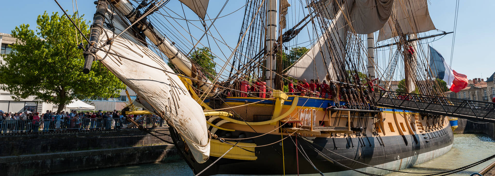 Discover the frigate Hermione in Rochefort- © Pascal Robin