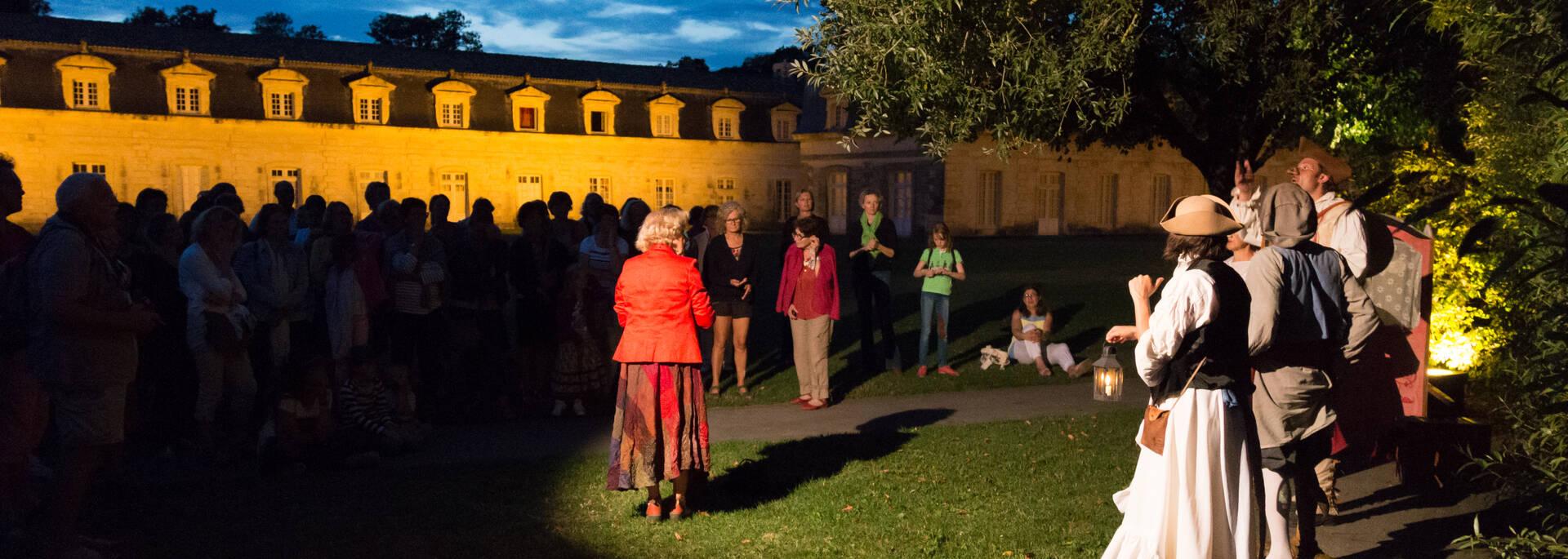 Les noctambulations : les visites théâtralisées sur l'histoire de l'arsenal de Rochefort en été - © David Compain - Ville de Rochefort