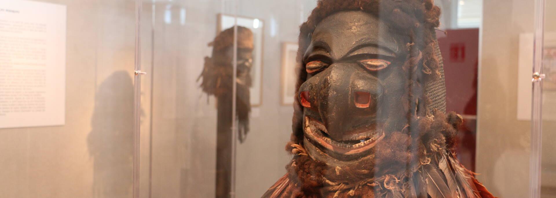 Statues du Pacifique au musée Hèbre St Clément de Rochefort ©OTRO