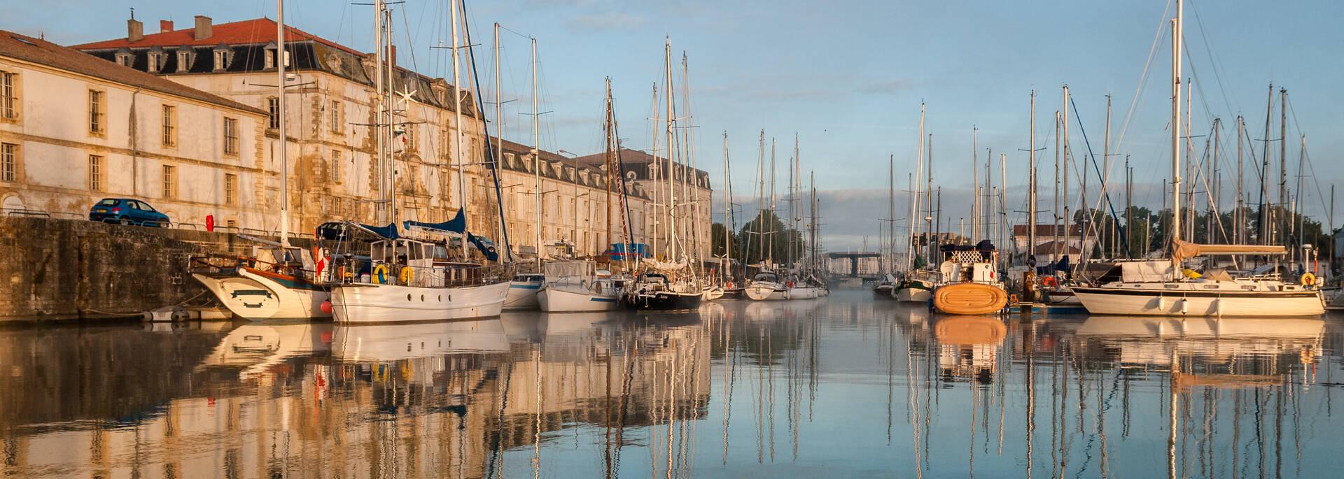 Port de plaisance de Rochefort - © Pascal Robin